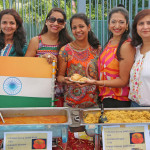 Indian food stall 2014