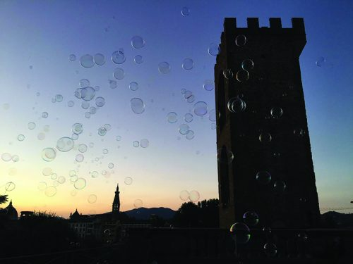 Junior Category Winner: Reese Tan, Bubbly Sunset in Florence​