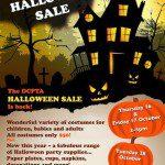 PTA Halloween Costume Sale